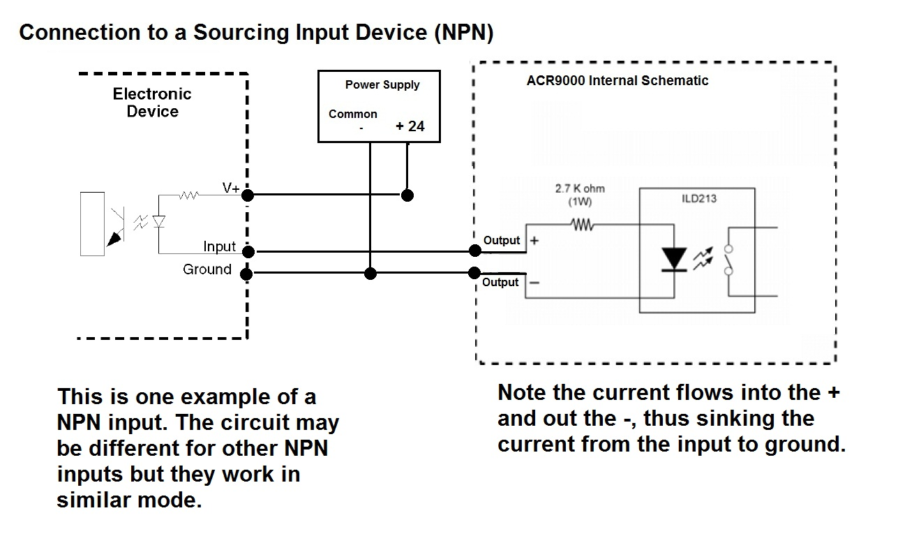 npn proximity switch wiring diagram npn prox diagram